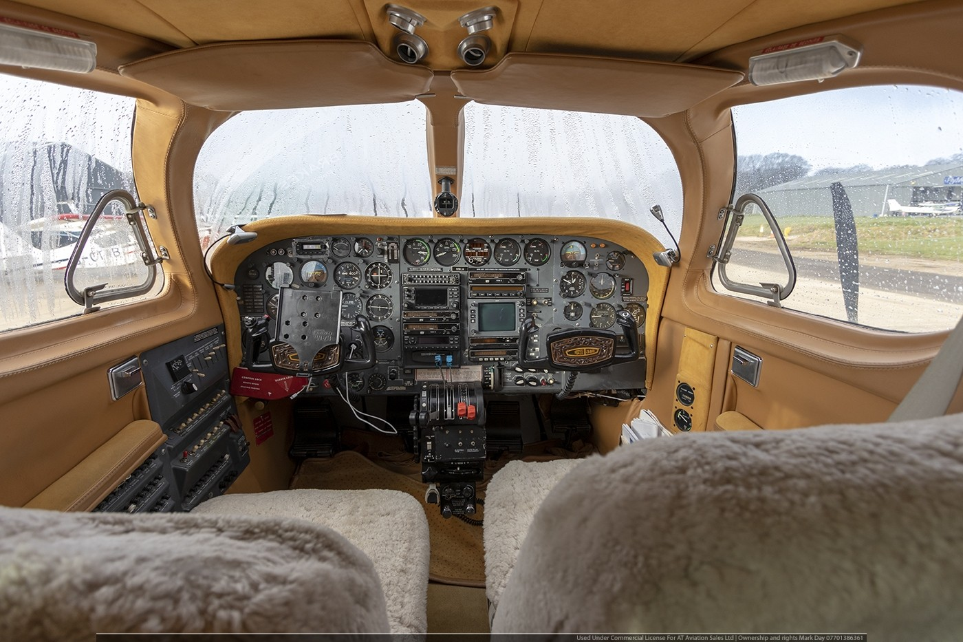 Cessna 340 With 325HP RAM engines